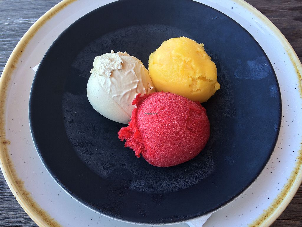 """Photo of Mrs Jones  by <a href=""""/members/profile/clairem"""">clairem</a> <br/>Raw salted caramel, raspberry, mango <br/> February 4, 2018  - <a href='/contact/abuse/image/82022/355000'>Report</a>"""