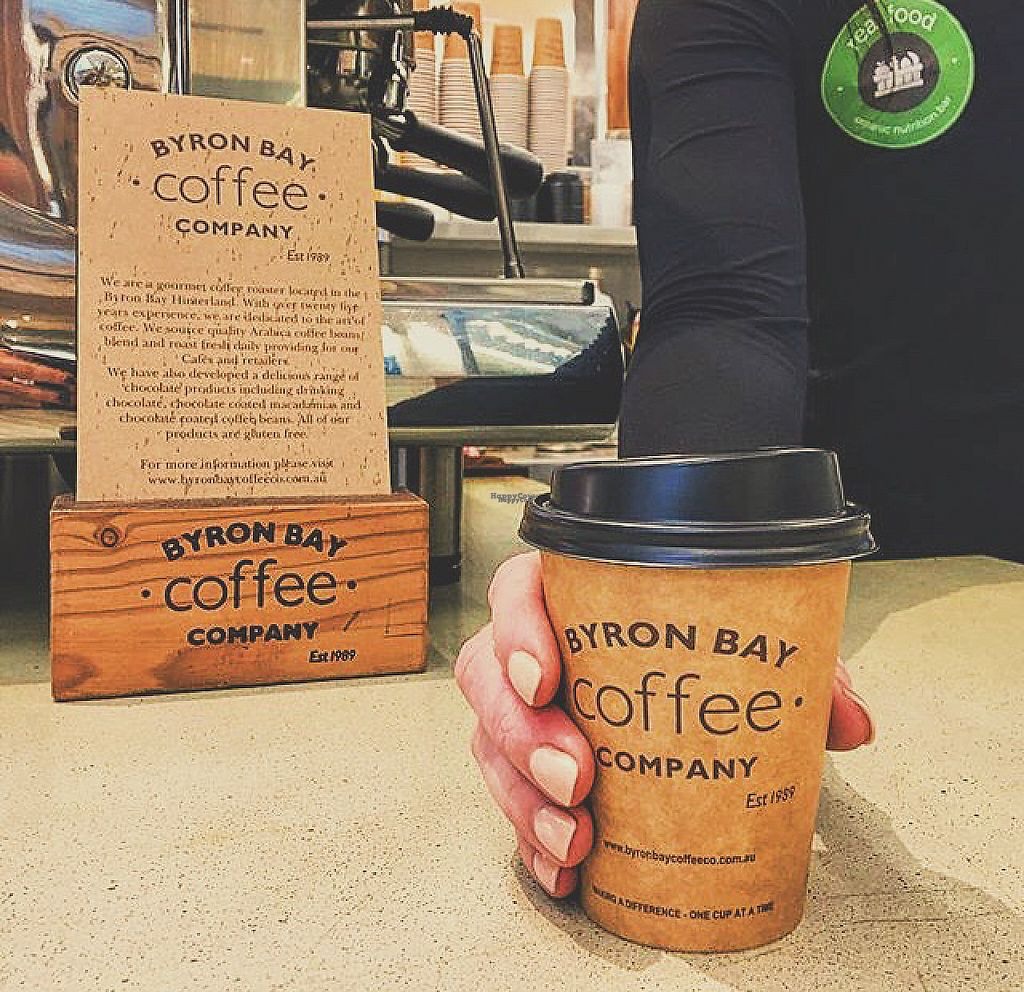 "Photo of Real Food Organic Nutrition Bar  by <a href=""/members/profile/mitchellbrian"">mitchellbrian</a> <br/>Serves Organic Byron Bay Coffee with multiple milk alt. Bonsoy, Organic Coconut, Organic Almond <br/> November 14, 2016  - <a href='/contact/abuse/image/82023/189845'>Report</a>"