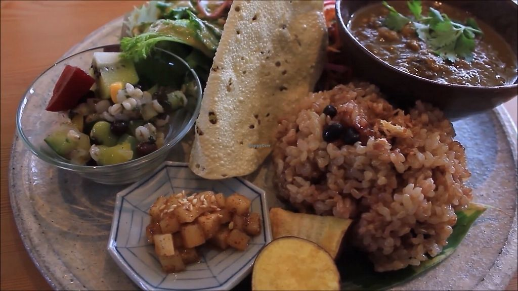 """Photo of Kousagisha Cafe  by <a href=""""/members/profile/TimFujio"""">TimFujio</a> <br/>curry plate <br/> October 7, 2017  - <a href='/contact/abuse/image/82027/312857'>Report</a>"""