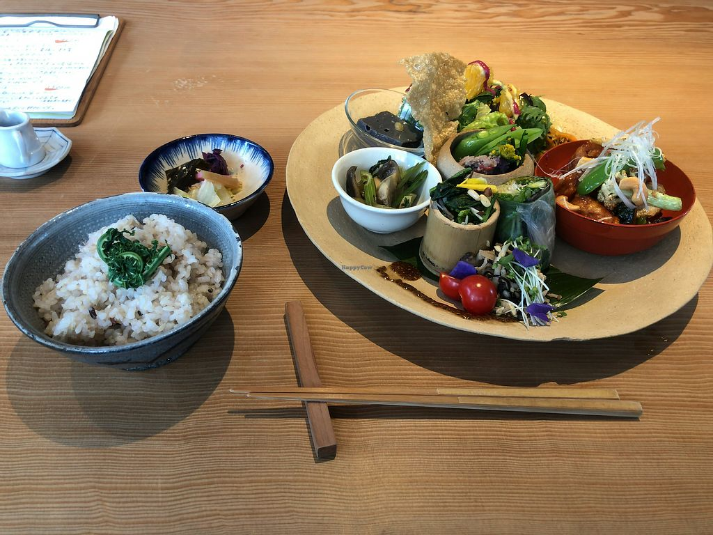 """Photo of Kousagisha Cafe  by <a href=""""/members/profile/Tomo%20Okabe"""">Tomo Okabe</a> <br/>Meal of 18 spring  <br/> April 5, 2018  - <a href='/contact/abuse/image/82027/380951'>Report</a>"""