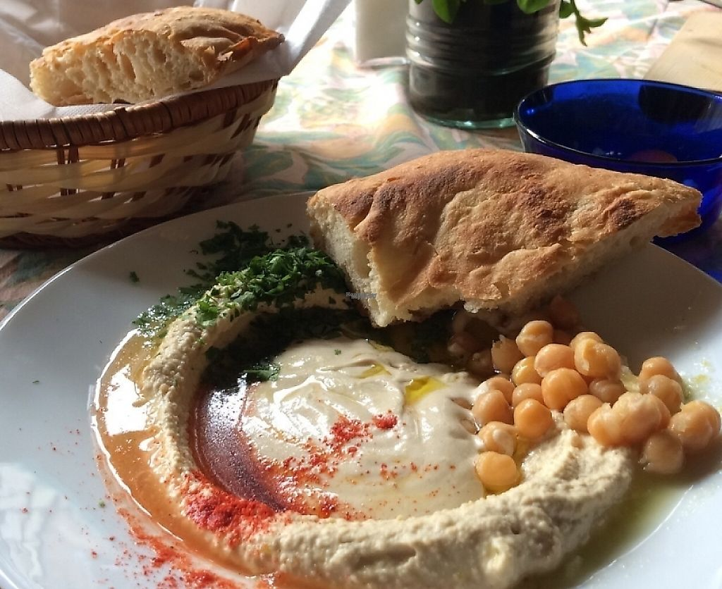 """Photo of Hummusbar  by <a href=""""/members/profile/iheartmyself"""">iheartmyself</a> <br/>hummus!! :) <br/> October 28, 2016  - <a href='/contact/abuse/image/82037/237965'>Report</a>"""