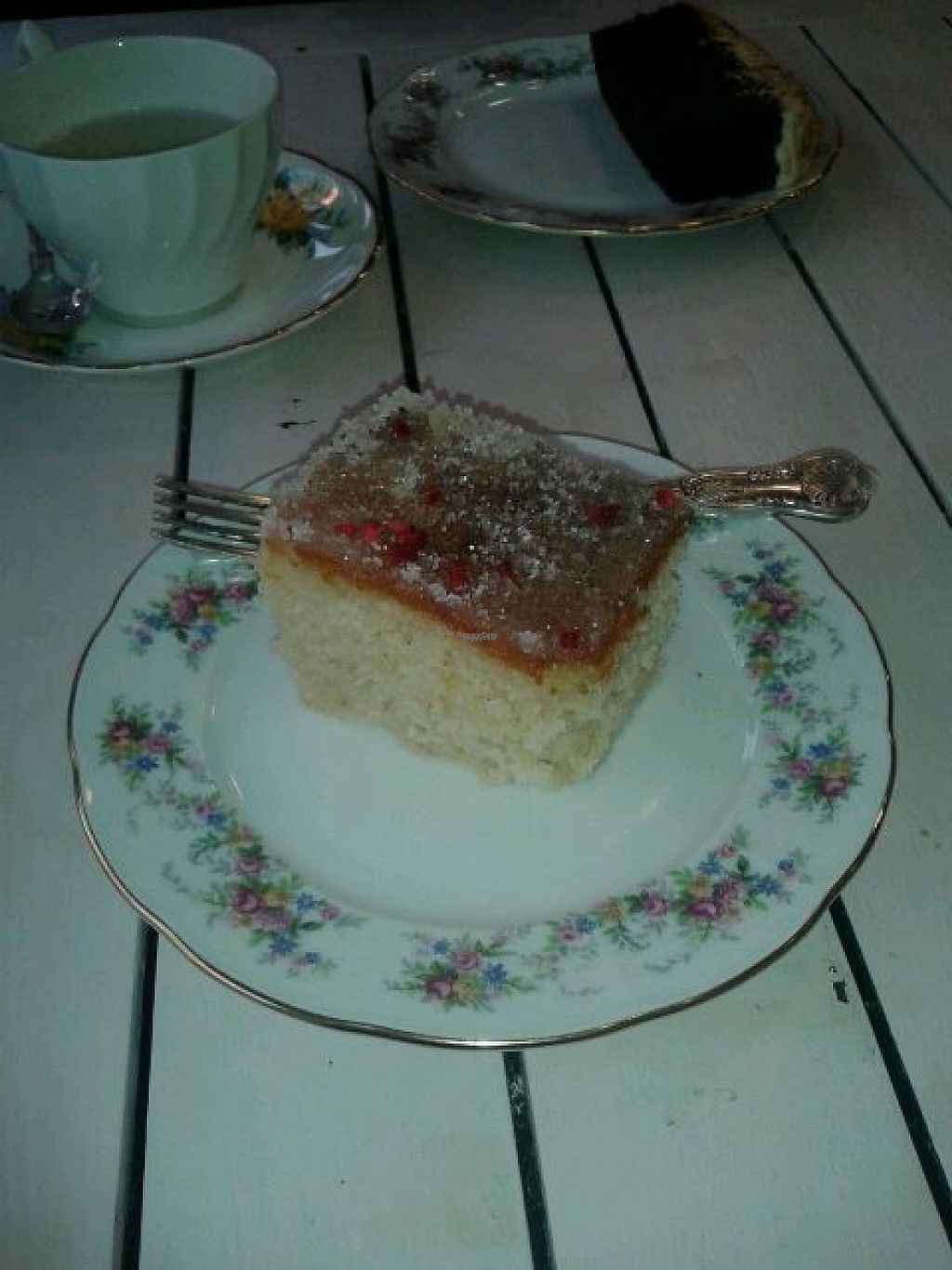 """Photo of Wildflower Creative Kitchen  by <a href=""""/members/profile/deadpledge"""">deadpledge</a> <br/>Lemon drizzle cake <br/> February 6, 2017  - <a href='/contact/abuse/image/82039/223722'>Report</a>"""