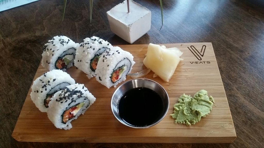 """Photo of V-Eats  by <a href=""""/members/profile/AlyssaWagner"""">AlyssaWagner</a> <br/>Sushi rolls <br/> November 5, 2016  - <a href='/contact/abuse/image/82061/186647'>Report</a>"""