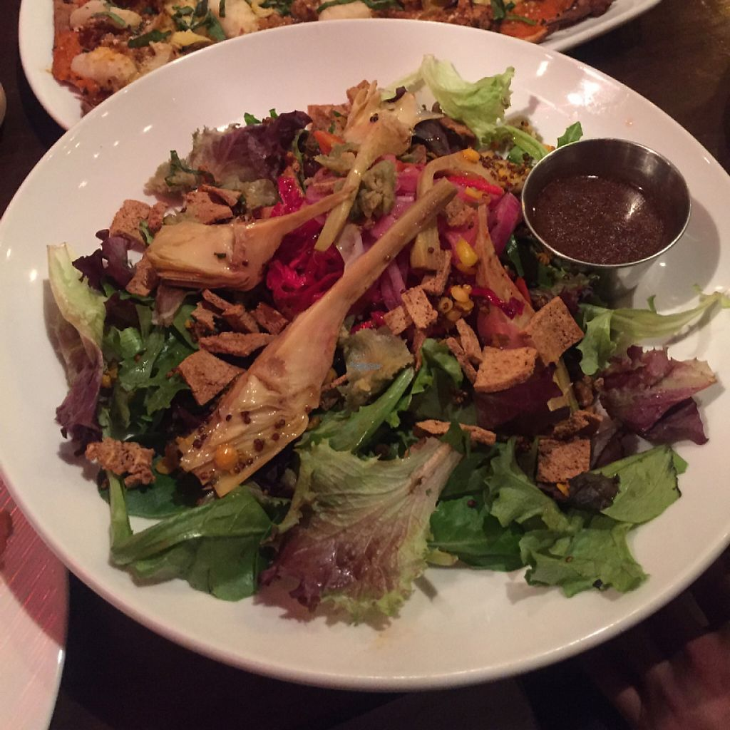 """Photo of V-Eats  by <a href=""""/members/profile/LinnDaugherty"""">LinnDaugherty</a> <br/>the salad - delicious and filling <br/> January 6, 2017  - <a href='/contact/abuse/image/82061/208553'>Report</a>"""