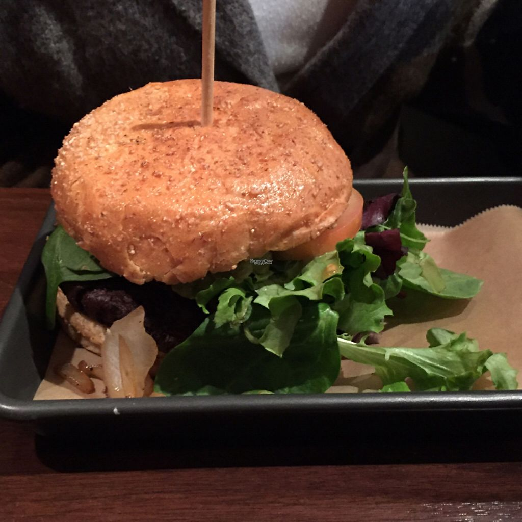"""Photo of V-Eats  by <a href=""""/members/profile/dlachica"""">dlachica</a> <br/>bean burger <br/> January 7, 2017  - <a href='/contact/abuse/image/82061/209190'>Report</a>"""
