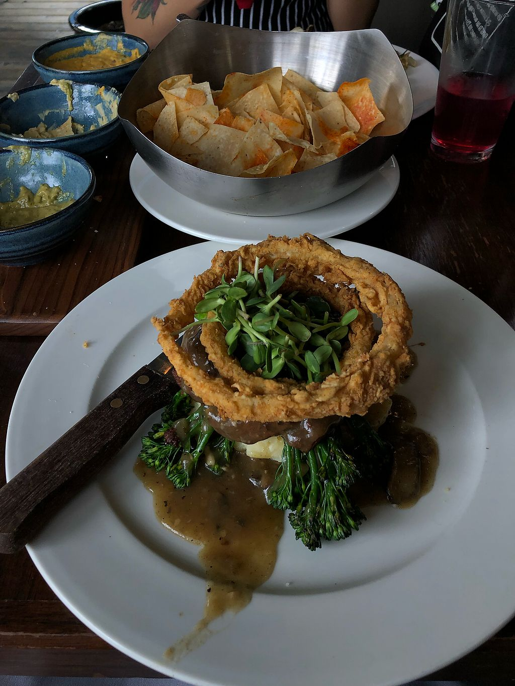 """Photo of V-Eats  by <a href=""""/members/profile/IannLopez"""">IannLopez</a> <br/>Salisbury Steak <br/> February 25, 2018  - <a href='/contact/abuse/image/82061/363802'>Report</a>"""