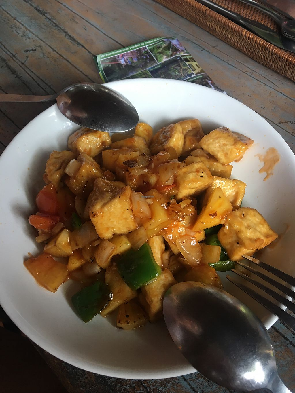 """Photo of Veggie Karma  by <a href=""""/members/profile/EmmaZ"""">EmmaZ</a> <br/>Sweet and sour tofu so so yum <br/> April 7, 2018  - <a href='/contact/abuse/image/82067/381889'>Report</a>"""