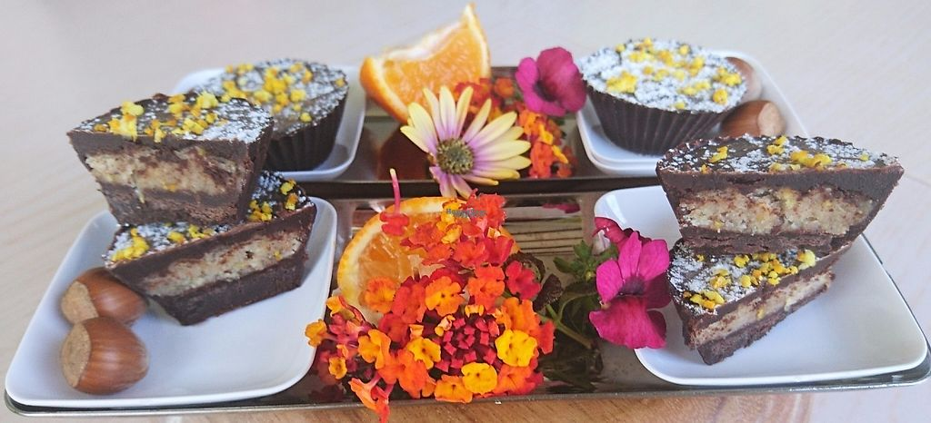 """Photo of Vegan Life Beach Breaks  by <a href=""""/members/profile/veganlifeenergy"""">veganlifeenergy</a> <br/>Raw and Pure Chocolate Cups with Grand Marnier, Orange and Hazelnut Cream Centre <br/> November 25, 2016  - <a href='/contact/abuse/image/82070/194210'>Report</a>"""