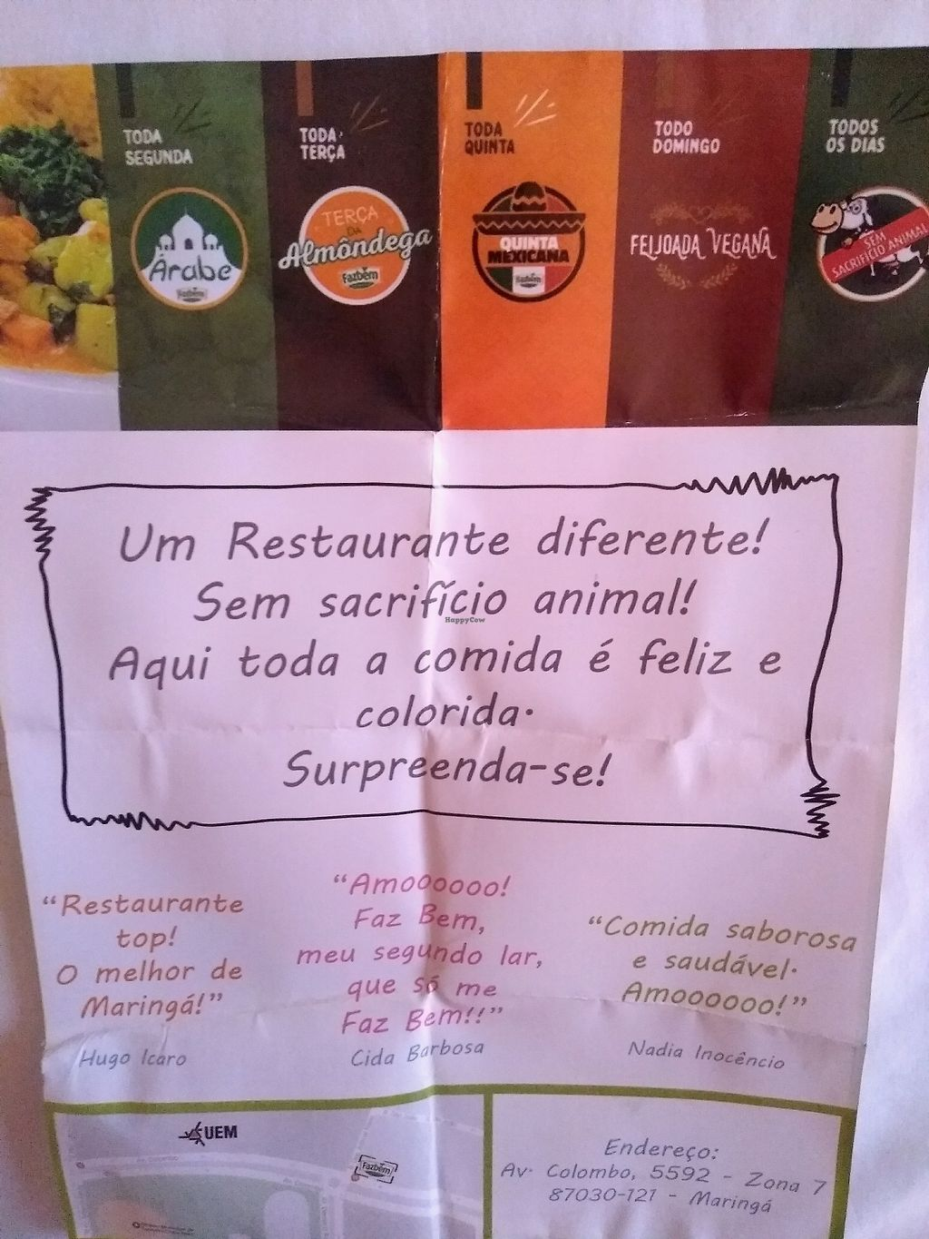 "Photo of Faz Bem Restaurante Vegano  by <a href=""/members/profile/MariAndrade"">MariAndrade</a> <br/>folder <br/> April 6, 2018  - <a href='/contact/abuse/image/82085/381716'>Report</a>"