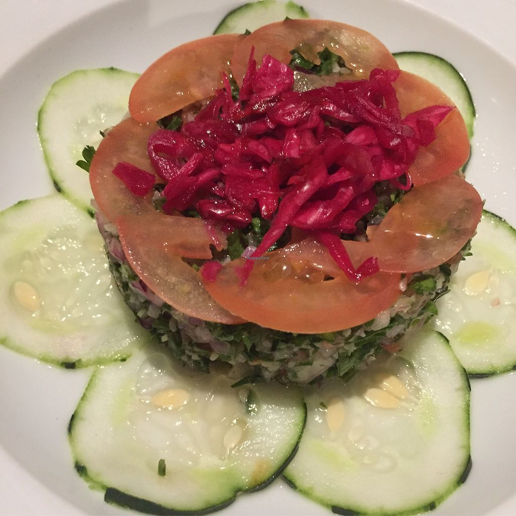 """Photo of Mezze Restaurant  by <a href=""""/members/profile/Eefie"""">Eefie</a> <br/>Tabbouleh <br/> September 11, 2017  - <a href='/contact/abuse/image/82093/303392'>Report</a>"""