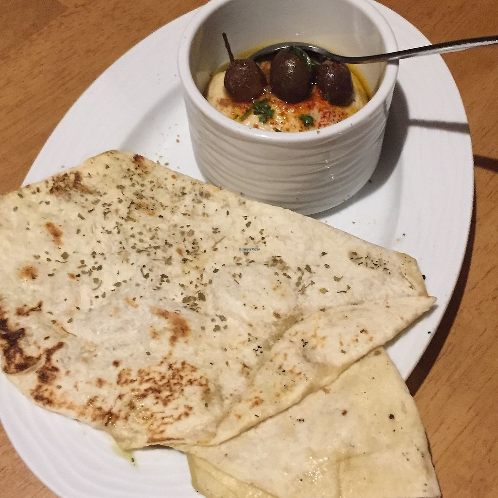 """Photo of Mezze Restaurant  by <a href=""""/members/profile/Eefie"""">Eefie</a> <br/>Ginger hummus <br/> September 11, 2017  - <a href='/contact/abuse/image/82093/303394'>Report</a>"""