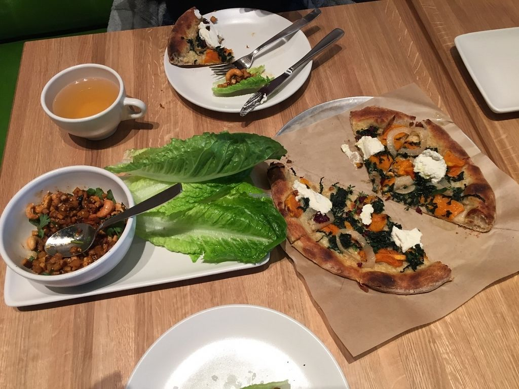 "Photo of True Food Kitchen  by <a href=""/members/profile/DonD"">DonD</a> <br/>1) Shiitake Lettuce Cups: tofu, jicama, sambal, thai basil, cashew