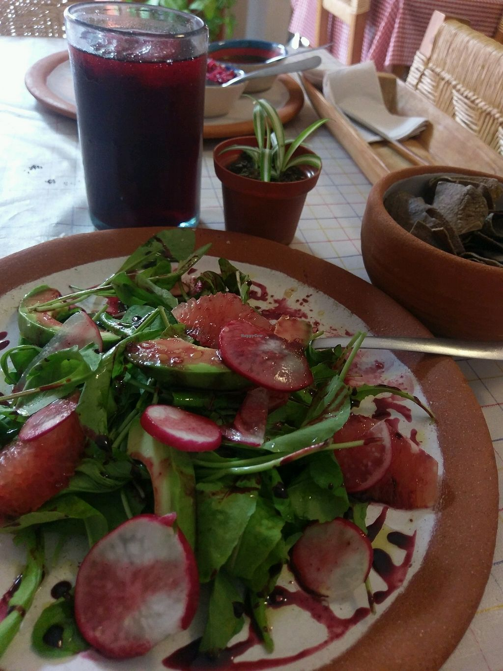 """Photo of Cabuche  by <a href=""""/members/profile/amylorelle"""">amylorelle</a> <br/>super yummy arugula salad with raddish and grapefruit. very light <br/> September 17, 2017  - <a href='/contact/abuse/image/82103/305186'>Report</a>"""