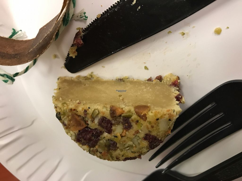 """Photo of CLOSED: New Haven Apizza & Bakery  by <a href=""""/members/profile/lynnieboodles"""">lynnieboodles</a> <br/>vegan cheese <br/> December 10, 2016  - <a href='/contact/abuse/image/82107/199147'>Report</a>"""