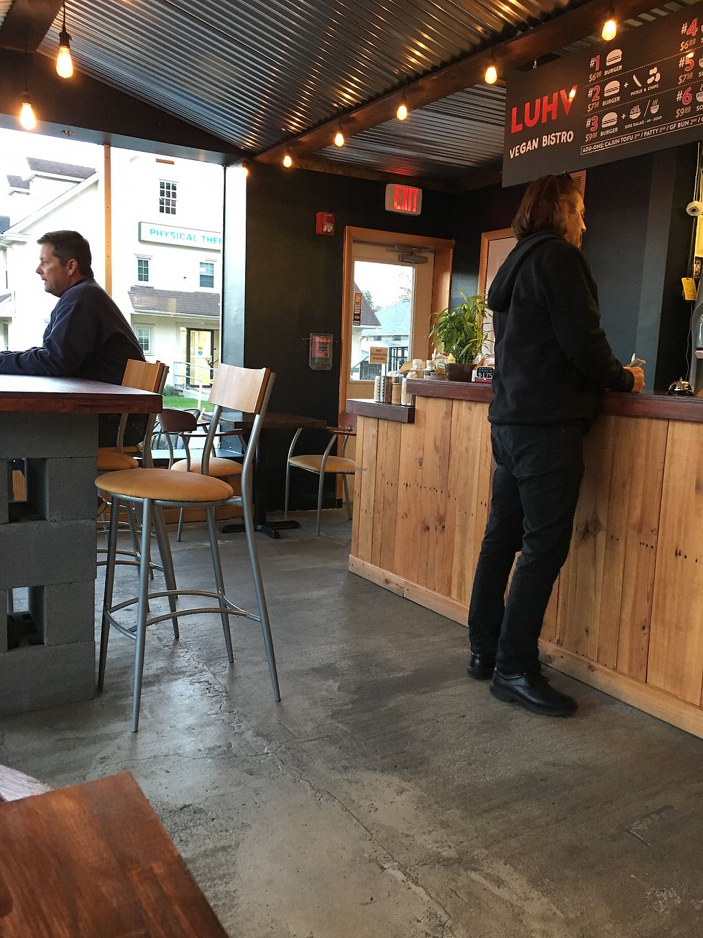 "Photo of LUHV Vegan Bistro  by <a href=""/members/profile/ralphsnowman"">ralphsnowman</a> <br/>main area <br/> September 30, 2017  - <a href='/contact/abuse/image/82111/310315'>Report</a>"