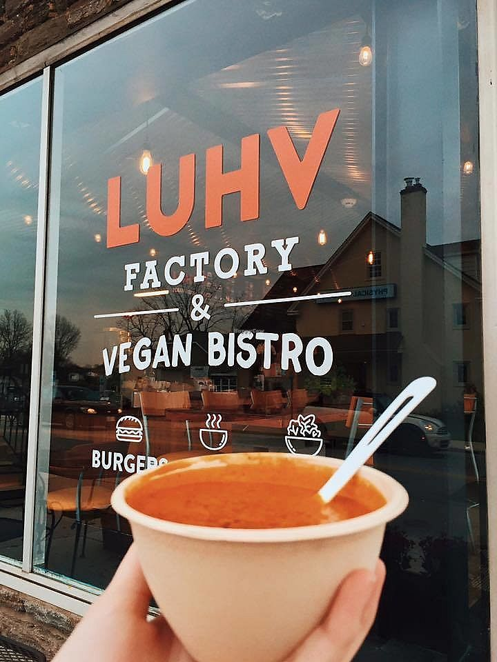 "Photo of LUHV Vegan Bistro  by <a href=""/members/profile/community"">community</a> <br/>LUHV Vegan Bistro <br/> December 1, 2017  - <a href='/contact/abuse/image/82111/331268'>Report</a>"