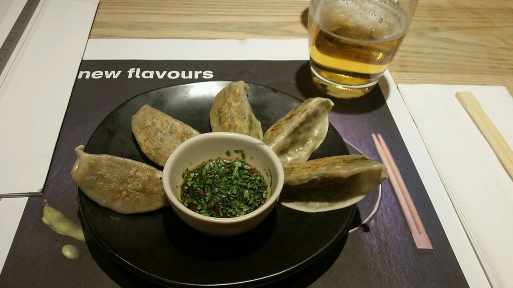 """Photo of Wagamama  by <a href=""""/members/profile/Zuzys"""">Zuzys</a> <br/>yasai gyoza  <br/> October 19, 2017  - <a href='/contact/abuse/image/82121/316748'>Report</a>"""