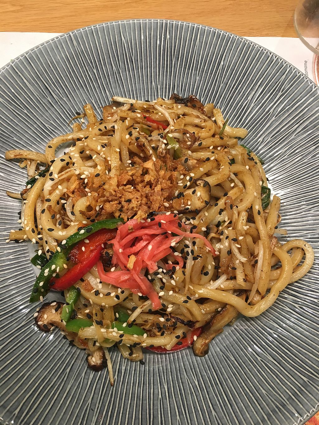 """Photo of Wagamama  by <a href=""""/members/profile/clap"""">clap</a> <br/>Yasai yaki soba <br/> March 22, 2018  - <a href='/contact/abuse/image/82121/374393'>Report</a>"""