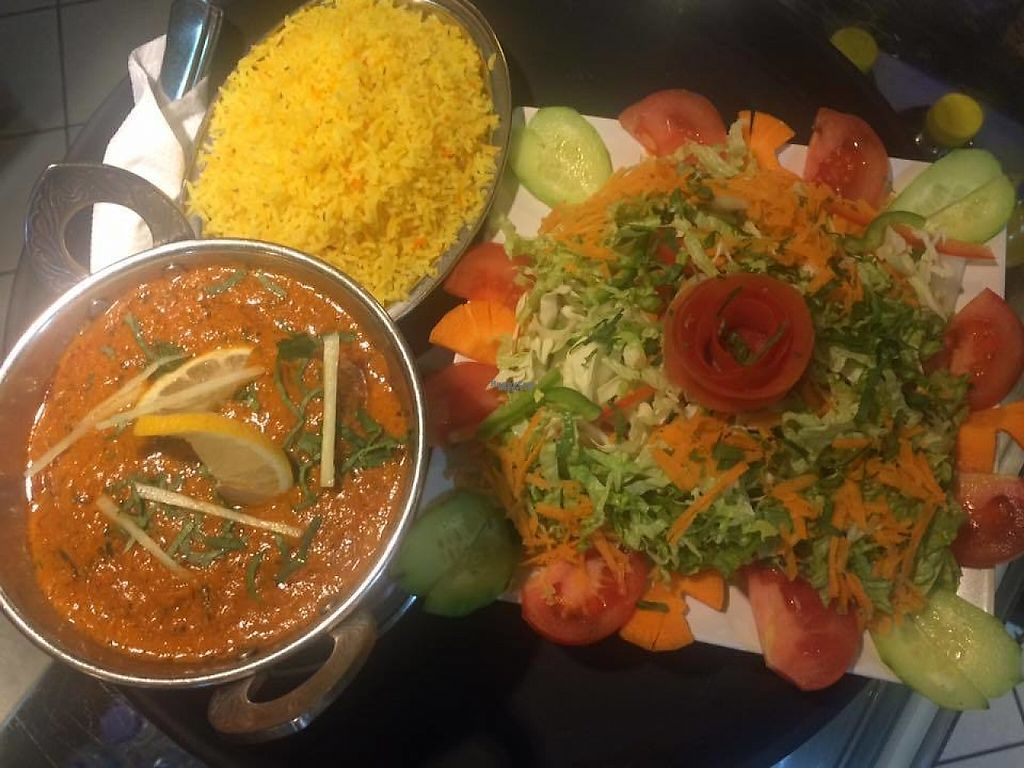"""Photo of Italian Indian Palace  by <a href=""""/members/profile/Vera%20Peres"""">Vera Peres</a> <br/>Chana Masala <br/> January 4, 2017  - <a href='/contact/abuse/image/82134/207950'>Report</a>"""