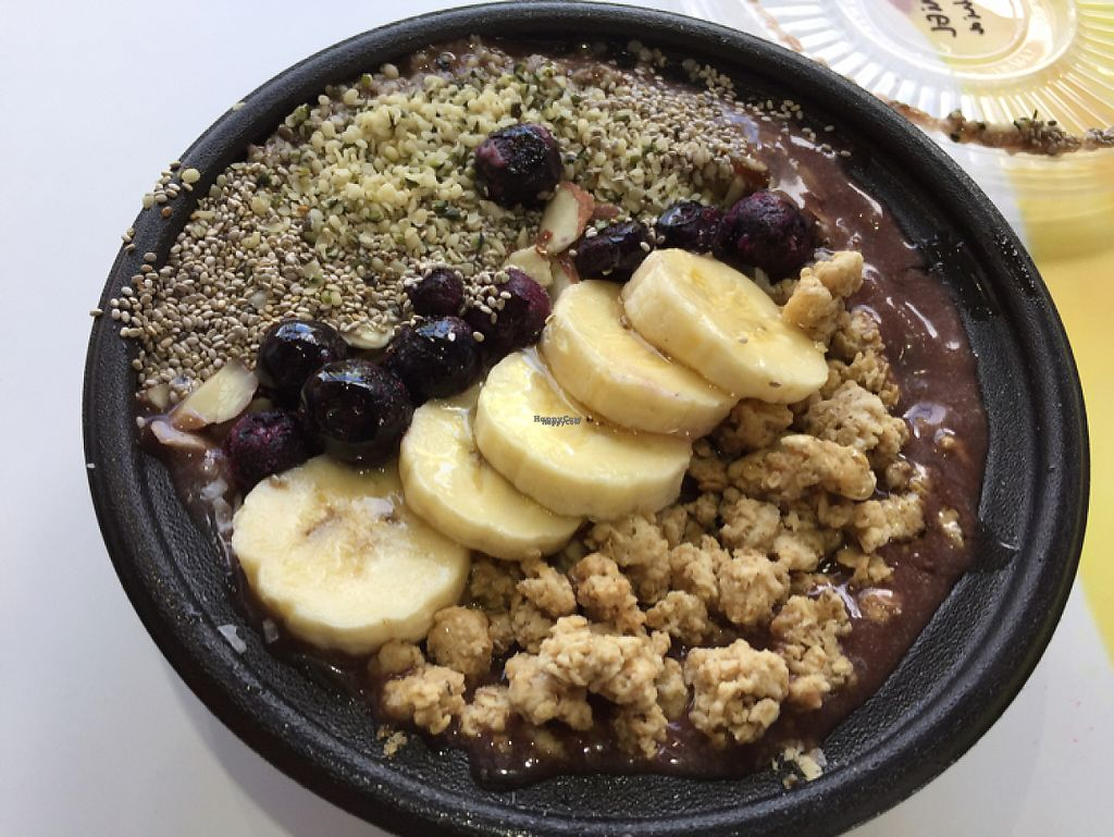 """Photo of The Orange Peel  by <a href=""""/members/profile/Eyal87"""">Eyal87</a> <br/>Açai Bowl  <br/> April 22, 2017  - <a href='/contact/abuse/image/82143/251223'>Report</a>"""