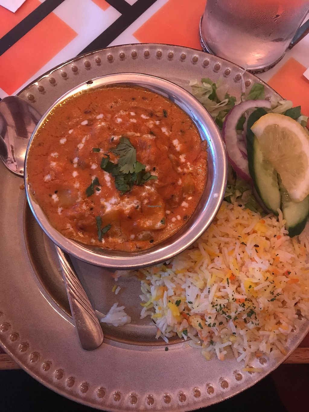 """Photo of Shalimar  by <a href=""""/members/profile/SophiaHoffmann"""">SophiaHoffmann</a> <br/>vegetarian dish - potato curry with cashew <br/> August 20, 2017  - <a href='/contact/abuse/image/82149/294908'>Report</a>"""