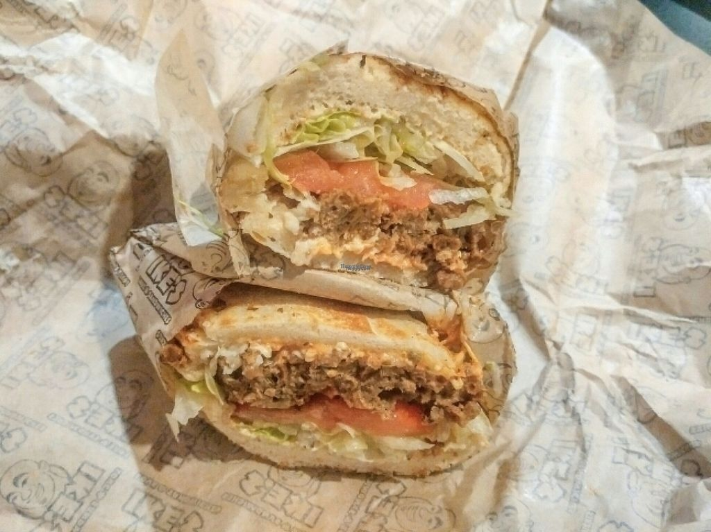 """Photo of Ike's  by <a href=""""/members/profile/Passittowill"""">Passittowill</a> <br/>Vegan Meatless Mike <br/> October 31, 2016  - <a href='/contact/abuse/image/82151/185629'>Report</a>"""