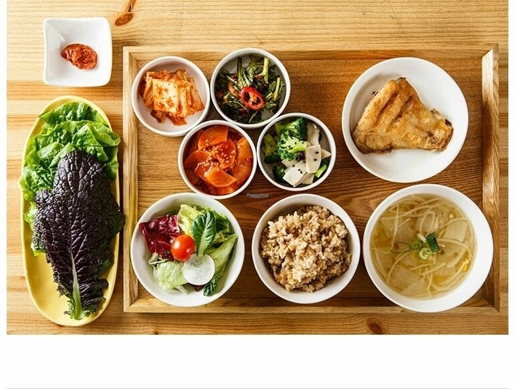 "Photo of CLOSED: Brownrice - 브라운라이스   by <a href=""/members/profile/brownricecafe"">brownricecafe</a> <br/>pesco food. dishes change on a daily basis <br/> November 1, 2016  - <a href='/contact/abuse/image/82191/185782'>Report</a>"