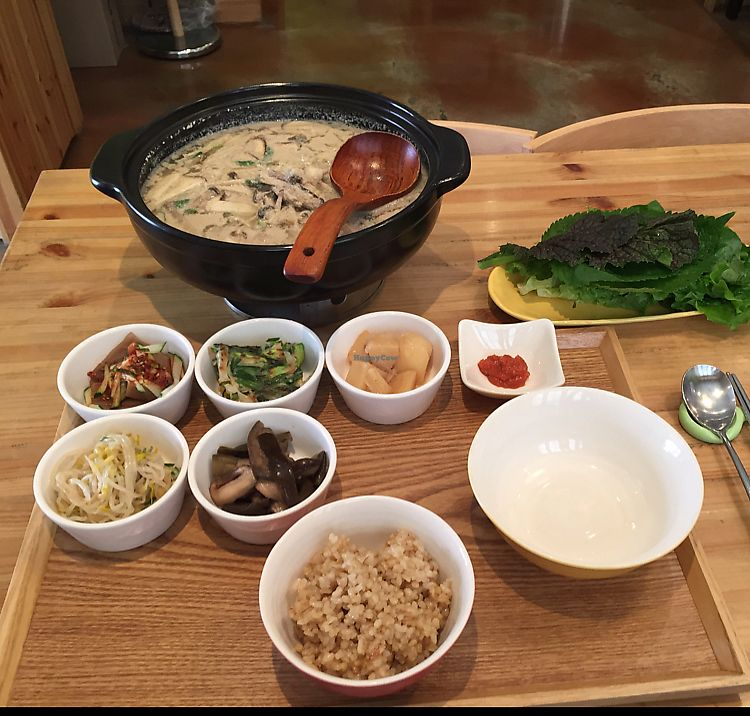 "Photo of CLOSED: Brownrice - 브라운라이스   by <a href=""/members/profile/Knauji82"">Knauji82</a> <br/>perilla seed soup. huge! for 2 people minimum! super delicious  <br/> June 8, 2017  - <a href='/contact/abuse/image/82191/266880'>Report</a>"