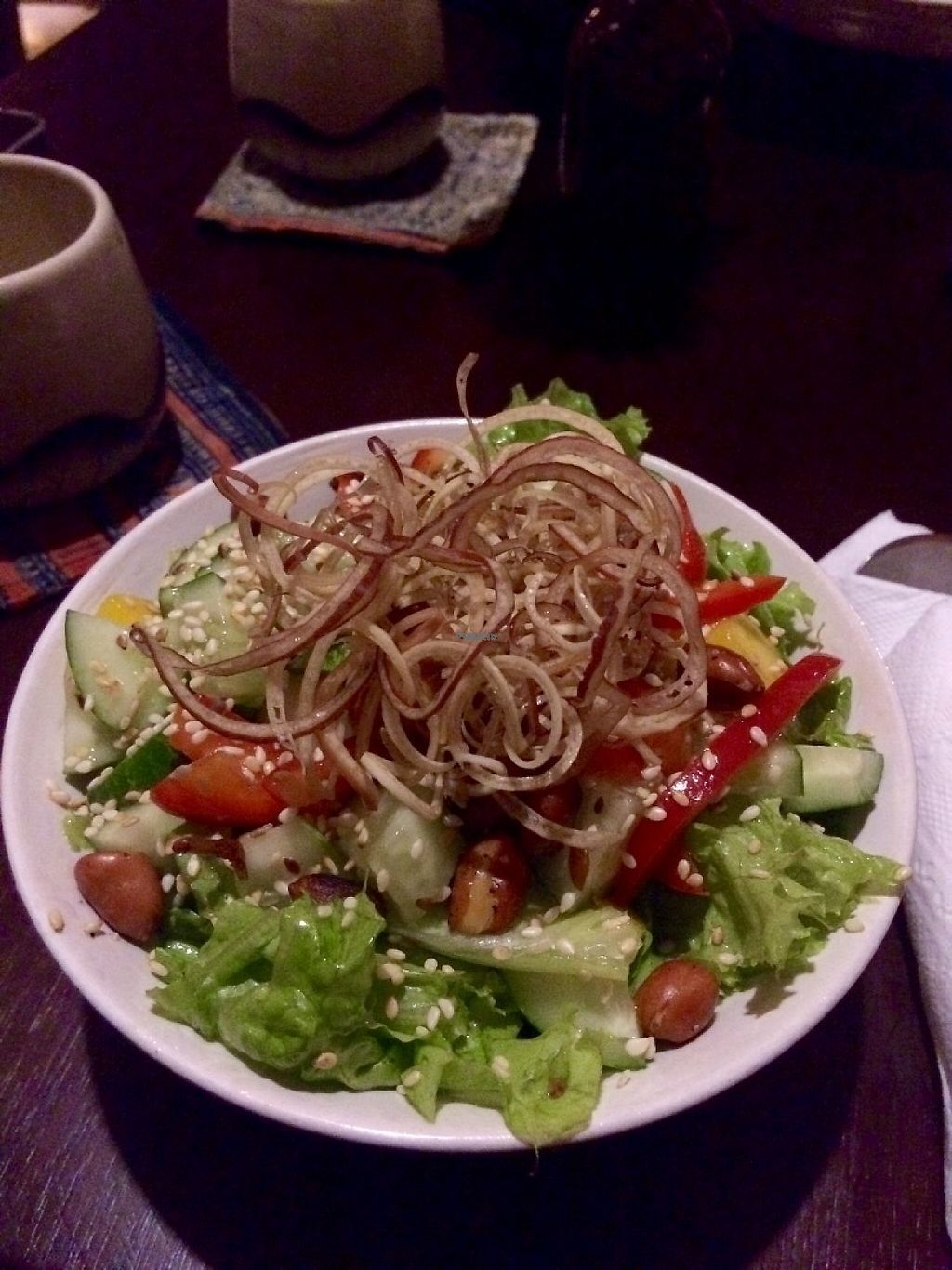 """Photo of Tree Hugger Cafe  by <a href=""""/members/profile/IsabelleLea"""">IsabelleLea</a> <br/>super delicious salad <br/> February 13, 2017  - <a href='/contact/abuse/image/82194/226287'>Report</a>"""