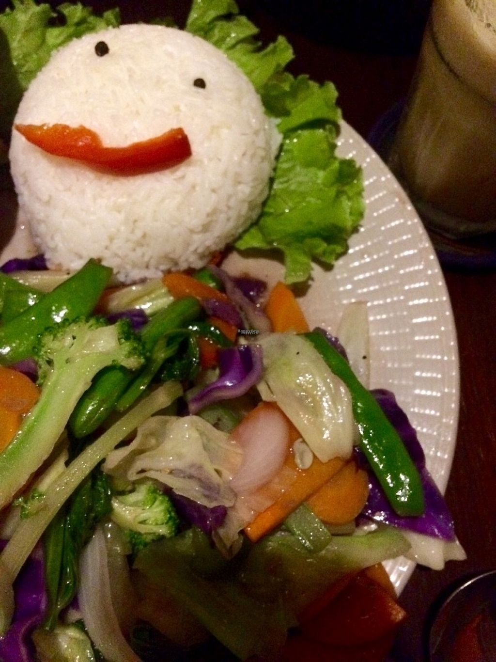 """Photo of Tree Hugger Cafe  by <a href=""""/members/profile/IsabelleLea"""">IsabelleLea</a> <br/>rice with vegetables <br/> February 13, 2017  - <a href='/contact/abuse/image/82194/226288'>Report</a>"""