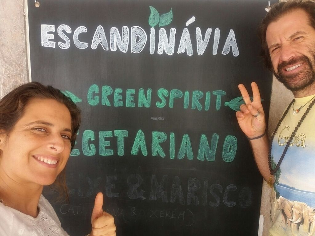 """Photo of Escandinavia Green Spirit  by <a href=""""/members/profile/Outro.Lado"""">Outro.Lado</a> <br/>Nice people, Nice food...we Love everthing!!!! GO VEGAN!!! <br/> November 2, 2016  - <a href='/contact/abuse/image/82199/186161'>Report</a>"""