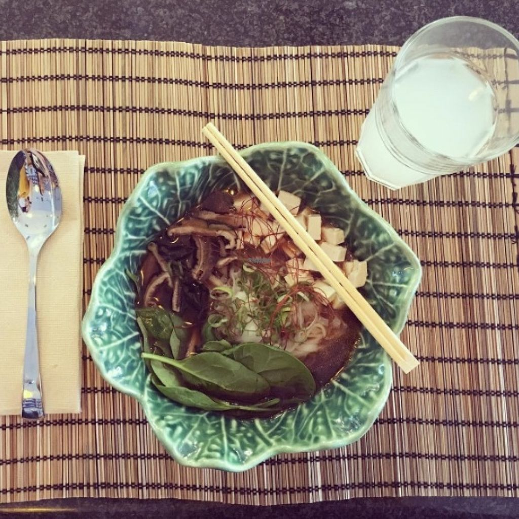 """Photo of Ramen Break  by <a href=""""/members/profile/JoannaJago"""">JoannaJago</a> <br/>Ramiyagi: Vegan Ramen with rice noodles - can be exchanged for wheat noodles  <br/> October 31, 2016  - <a href='/contact/abuse/image/82202/185641'>Report</a>"""