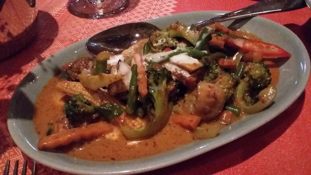 "Photo of Doi Intanon  by <a href=""/members/profile/Veganolive1"">Veganolive1</a> <br/>Pad Jet Jay (Stirfry vegetables in red curry paste & coconut cream <br/> November 1, 2016  - <a href='/contact/abuse/image/82218/185775'>Report</a>"