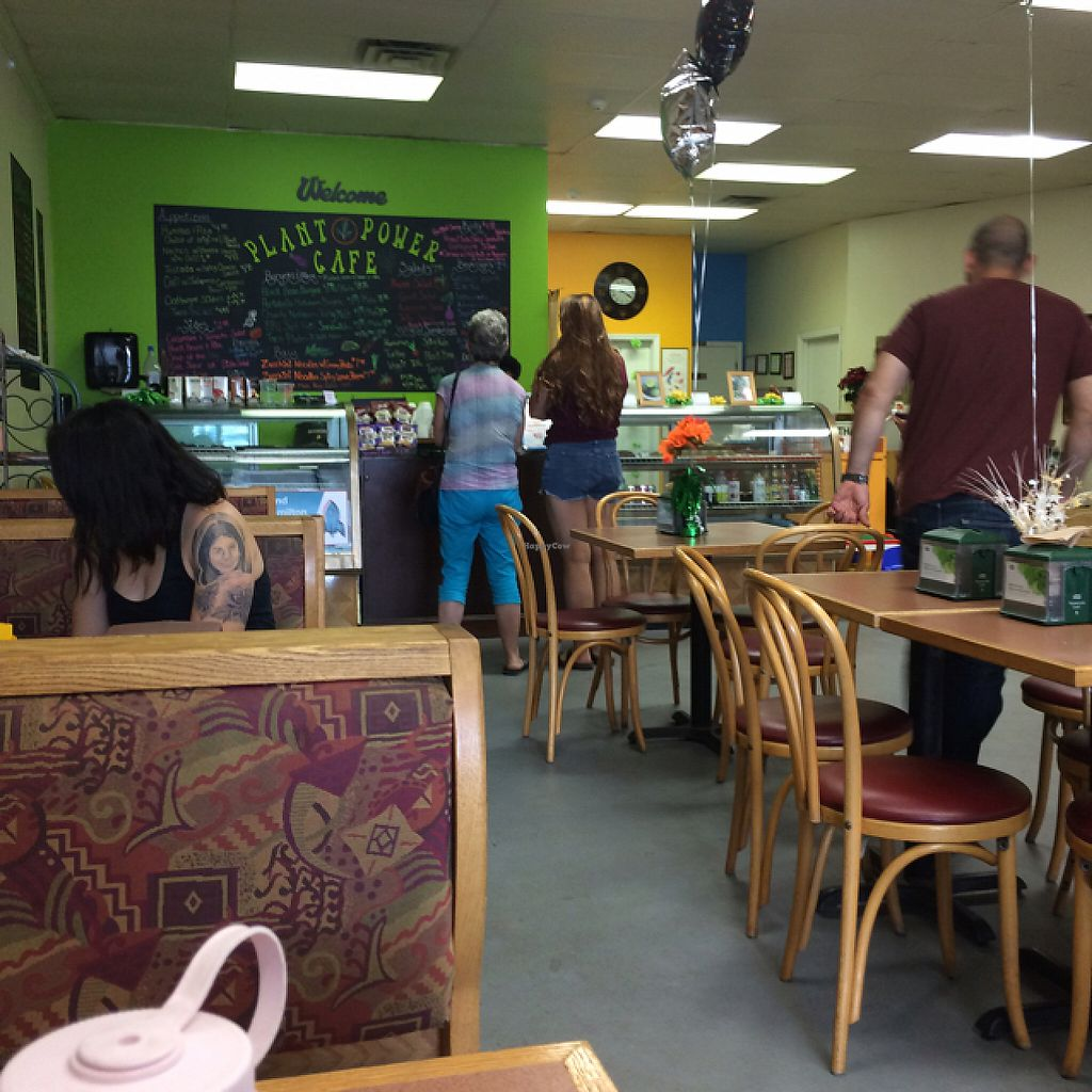 "Photo of Plant Power Cafe & Juice Bar  by <a href=""/members/profile/KatieBush"">KatieBush</a> <br/>inside <br/> May 31, 2017  - <a href='/contact/abuse/image/82221/264581'>Report</a>"