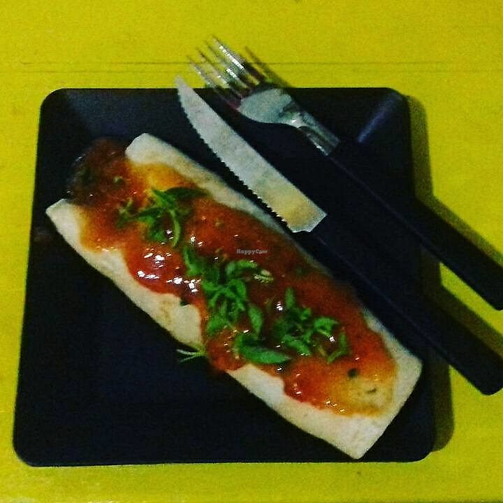 "Photo of CLOSED: Hot Dog do Samuray  by <a href=""/members/profile/itsumiyo"" class=""title__title"">itsumiyo</a> <br/>Vegan Pancake (Margherita) <br/> September 11, 2017  - <a href='/contact/abuse/image/82230/303430'>Report</a>"