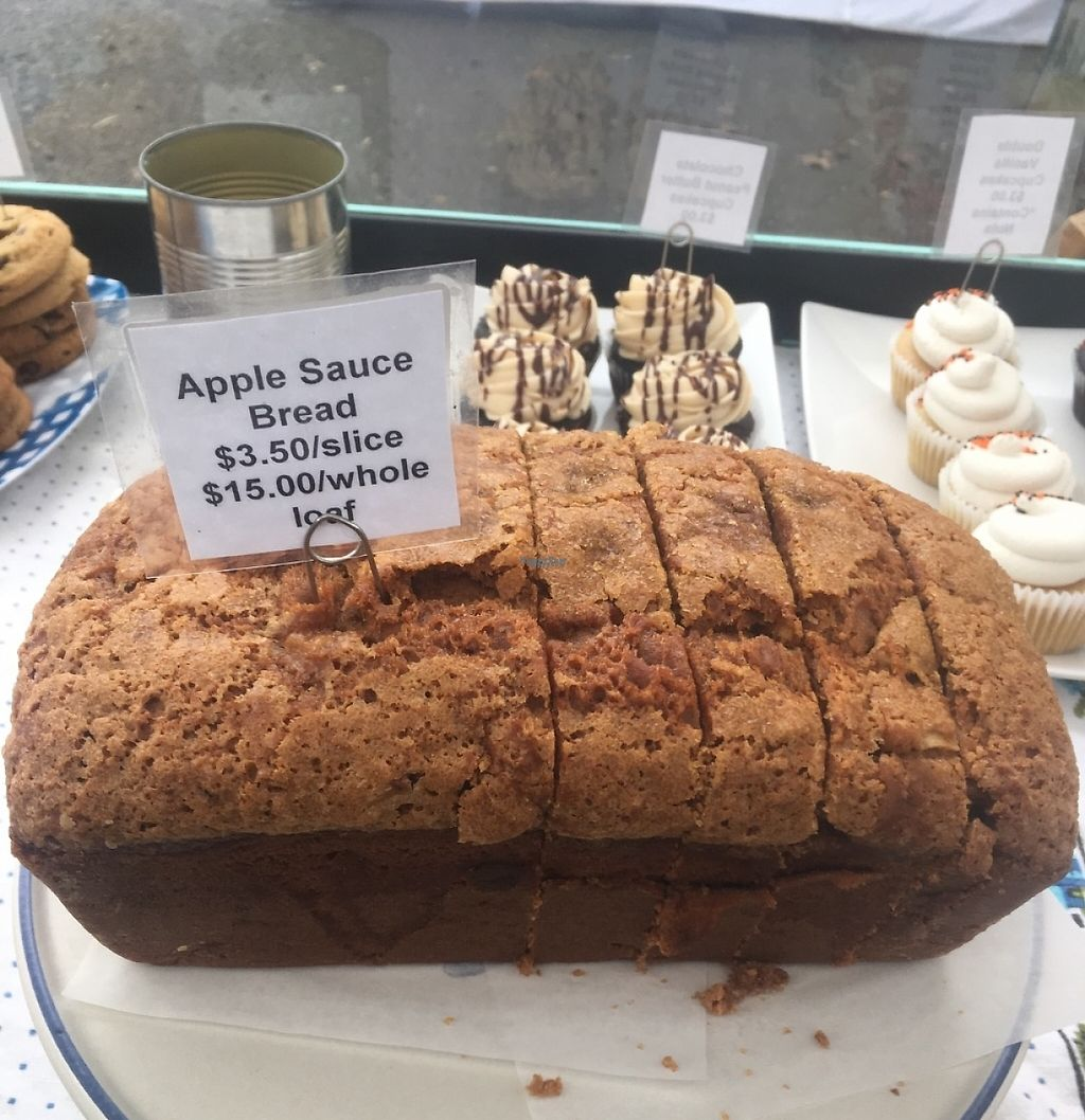 """Photo of Shoofly  by <a href=""""/members/profile/Shooflyveganbakery"""">Shooflyveganbakery</a> <br/>Applesauce bread  <br/> November 1, 2016  - <a href='/contact/abuse/image/82236/221705'>Report</a>"""