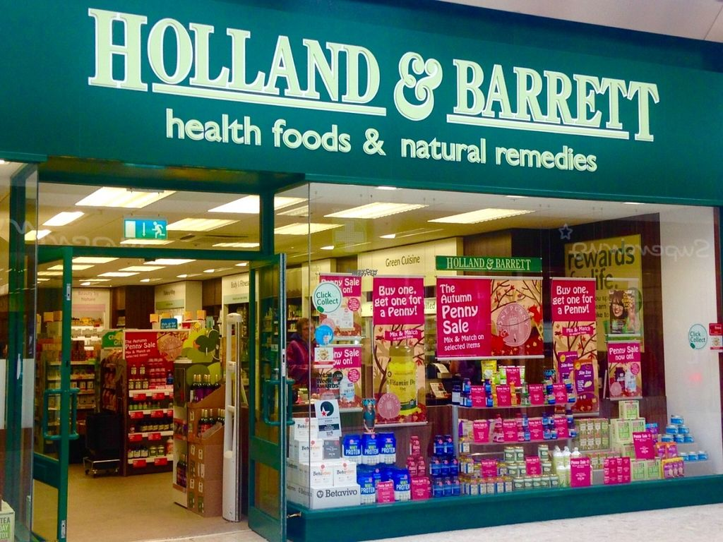 """Photo of Holland and Barrett - Quadrant Shopping Centre  by <a href=""""/members/profile/charclothier"""">charclothier</a> <br/>Outside view shop  <br/> November 1, 2016  - <a href='/contact/abuse/image/82251/185919'>Report</a>"""