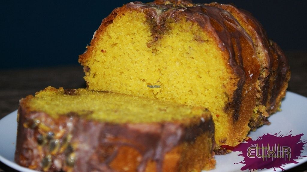 """Photo of Cafe Elixir  by <a href=""""/members/profile/CayoCuisote"""">CayoCuisote</a> <br/>Loaf cake!! Passion fruit flavour <br/> November 2, 2016  - <a href='/contact/abuse/image/82259/186221'>Report</a>"""