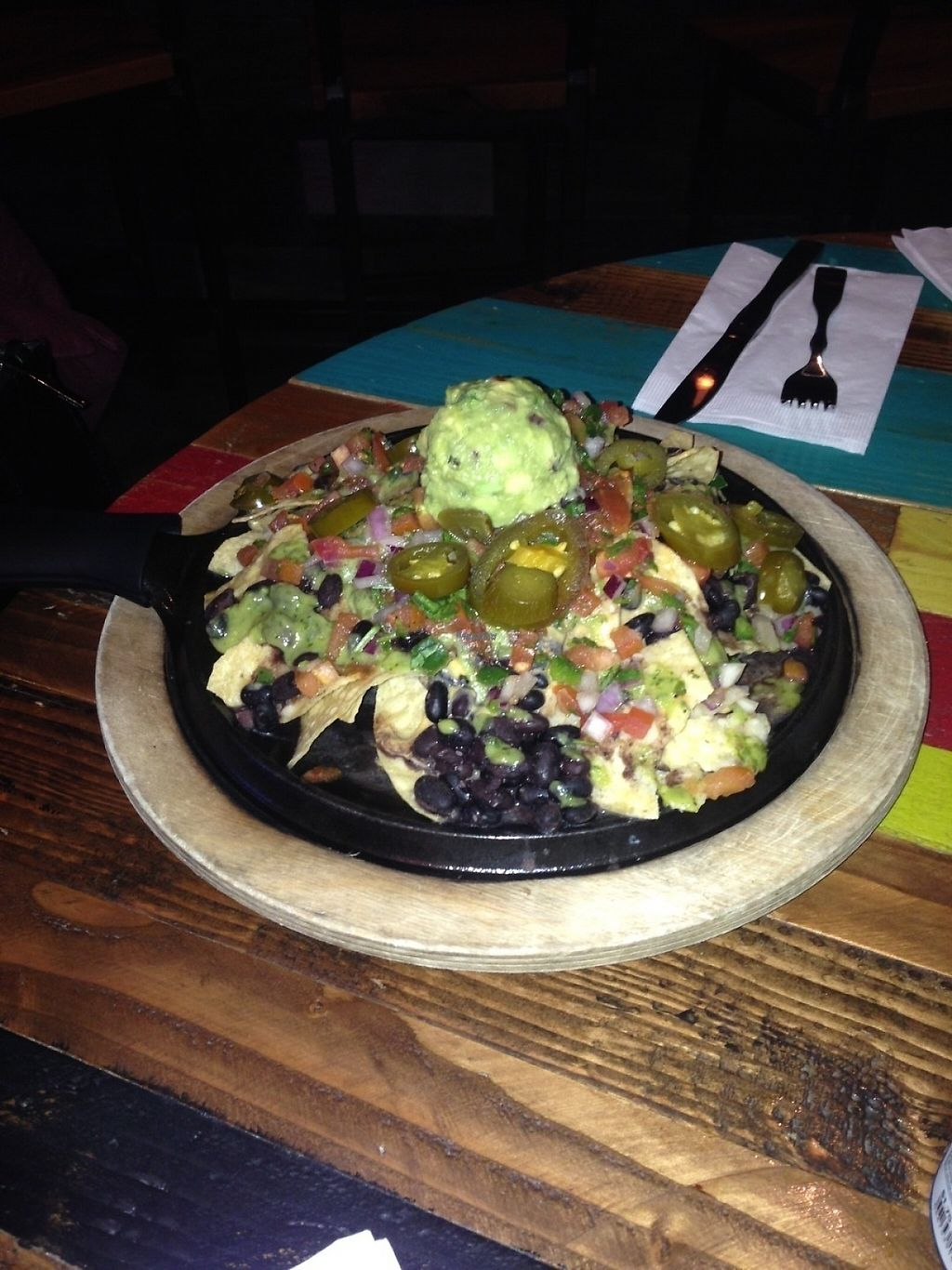 "Photo of Nacho Daddy - Las Vegas Blvd  by <a href=""/members/profile/Veganlove408"">Veganlove408</a> <br/>Loaded vegan nachos :) <br/> February 13, 2017  - <a href='/contact/abuse/image/82264/226311'>Report</a>"