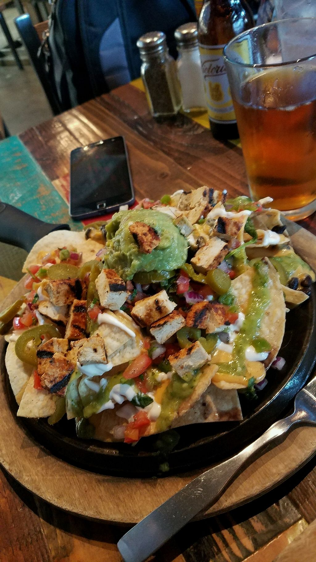 "Photo of Nacho Daddy - Las Vegas Blvd  by <a href=""/members/profile/NTaiResting"">NTaiResting</a> <br/>Loaded nachos with chik'n <br/> September 28, 2017  - <a href='/contact/abuse/image/82264/309494'>Report</a>"