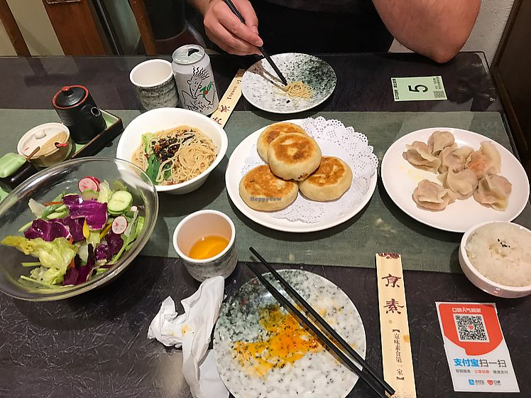 """Photo of Vegetarian Dumpling  by <a href=""""/members/profile/Bigna"""">Bigna</a> <br/>in total we payed around 8 euros for dinner for two people <br/> July 8, 2017  - <a href='/contact/abuse/image/82268/277882'>Report</a>"""