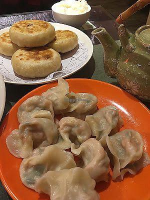 "Photo of Vegetarian Dumpling  by <a href=""/members/profile/jojoinbrighton"">jojoinbrighton</a> <br/>Vegan dumplings! <br/> August 5, 2017  - <a href='/contact/abuse/image/82268/289020'>Report</a>"
