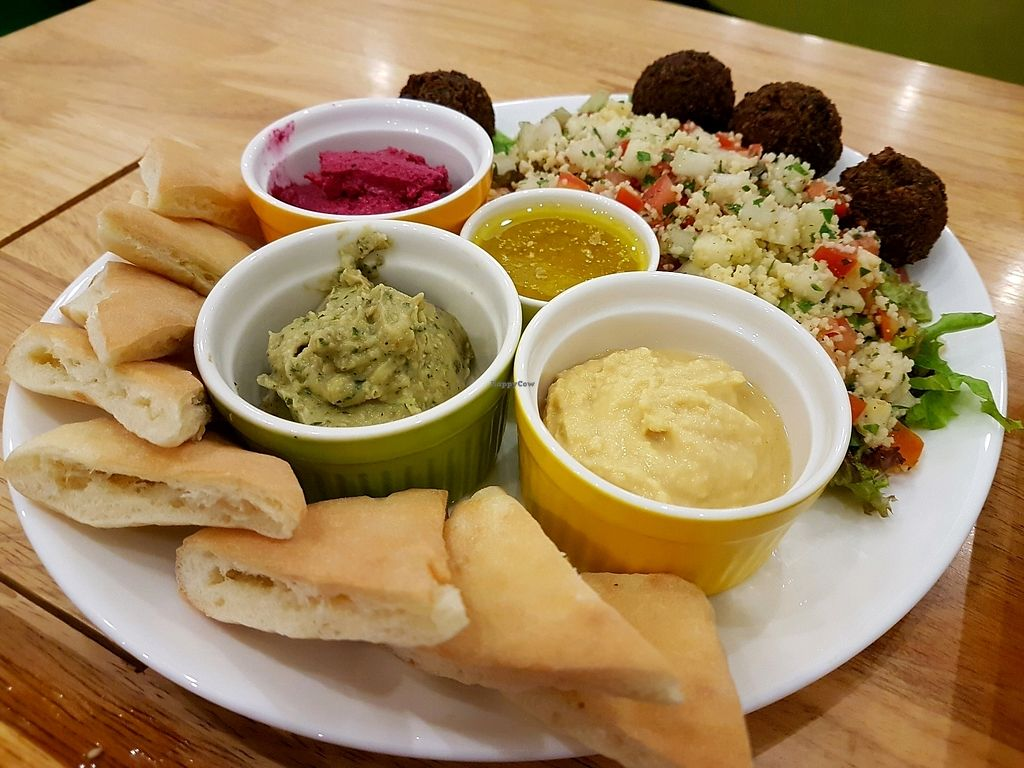 """Photo of Nourish Cafe  by <a href=""""/members/profile/PeterRichards"""">PeterRichards</a> <br/>amazing mezze <br/> October 8, 2017  - <a href='/contact/abuse/image/82280/313181'>Report</a>"""