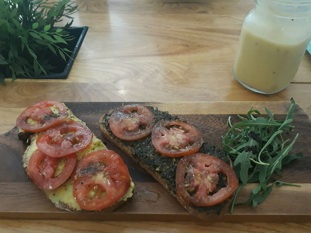 """Photo of Nourish Cafe  by <a href=""""/members/profile/LilacHippy"""">LilacHippy</a> <br/>Toasts <br/> April 14, 2018  - <a href='/contact/abuse/image/82280/385813'>Report</a>"""