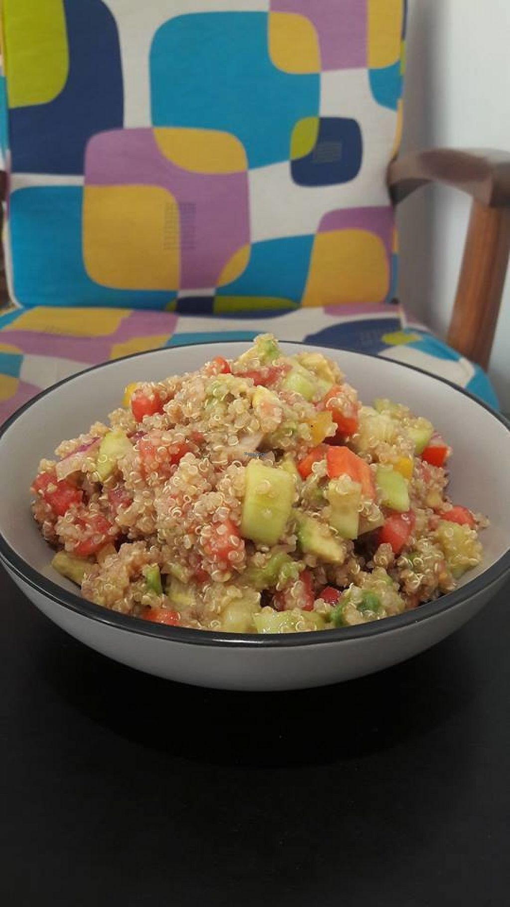 "Photo of To Bazaki Juice Bar  by <a href=""/members/profile/community"">community</a> <br/>quinoa salad <br/> November 12, 2016  - <a href='/contact/abuse/image/82289/188941'>Report</a>"
