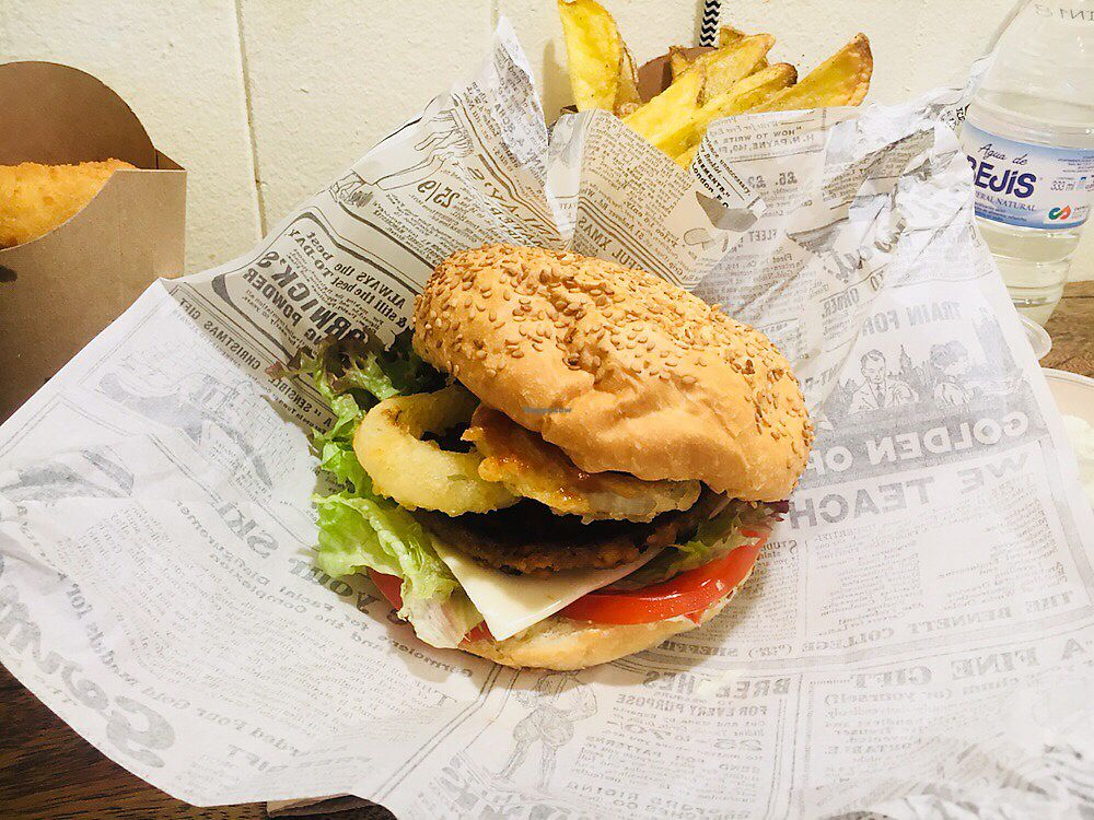 """Photo of Aloha Vegan Delights  by <a href=""""/members/profile/rups22"""">rups22</a> <br/>Muhai burger <br/> December 11, 2017  - <a href='/contact/abuse/image/82306/334712'>Report</a>"""