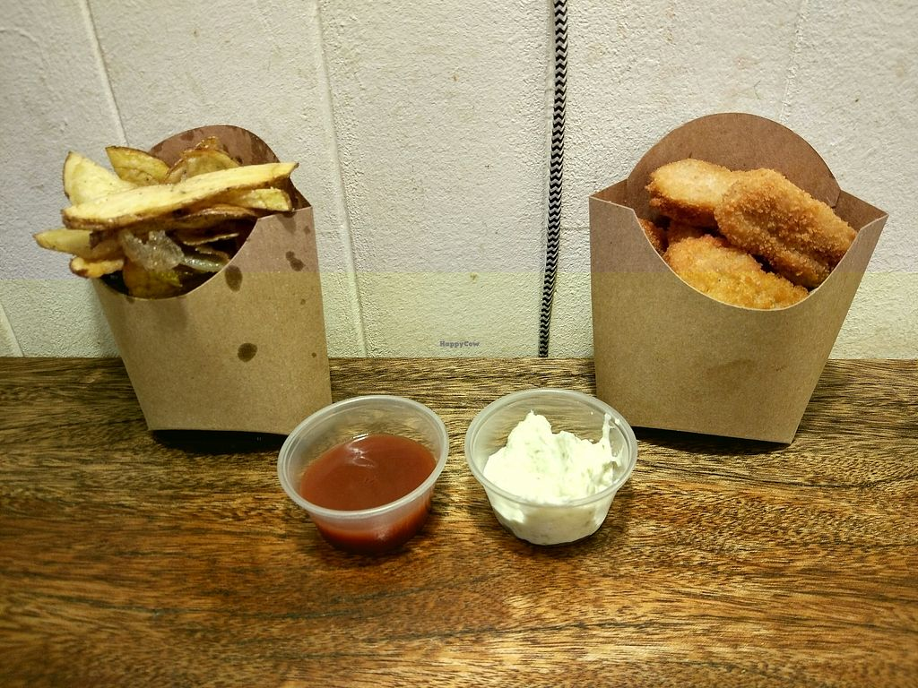 """Photo of Aloha Vegan Delights  by <a href=""""/members/profile/SoniaR"""">SoniaR</a> <br/>french fries, nuggets <br/> December 22, 2017  - <a href='/contact/abuse/image/82306/337940'>Report</a>"""