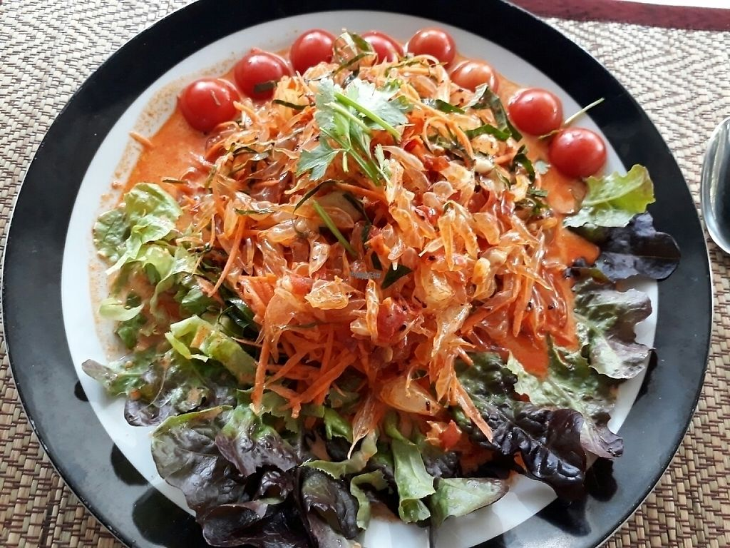 "Photo of Ama Vegan Kitchen  by <a href=""/members/profile/LilacHippy"">LilacHippy</a> <br/>Pomelo salad <br/> March 24, 2017  - <a href='/contact/abuse/image/82316/240184'>Report</a>"