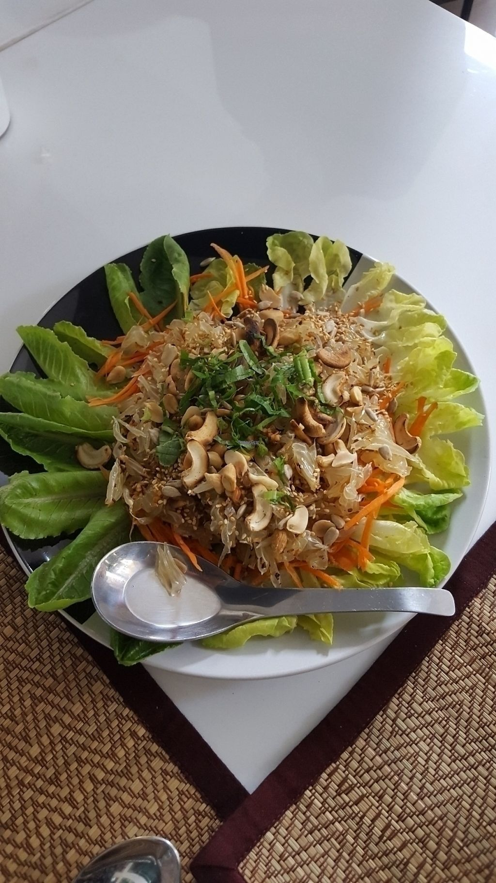 "Photo of Ama Vegan Kitchen  by <a href=""/members/profile/Yanka"">Yanka</a> <br/>pomelo salad <br/> April 30, 2017  - <a href='/contact/abuse/image/82316/254094'>Report</a>"