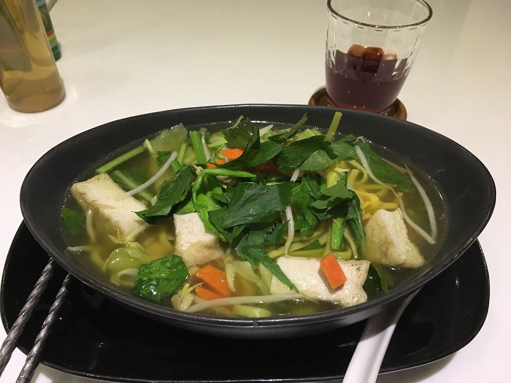 "Photo of Ama Vegan Kitchen  by <a href=""/members/profile/DennisSmit"">DennisSmit</a> <br/>Noodle soup <br/> December 20, 2017  - <a href='/contact/abuse/image/82316/337507'>Report</a>"